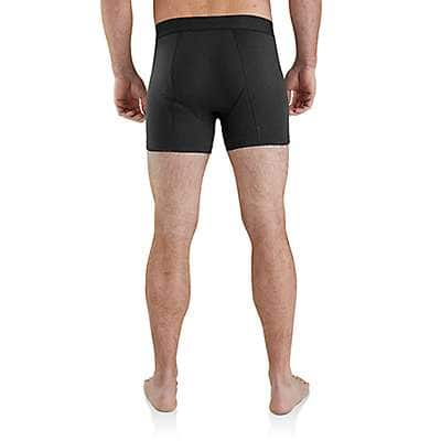 "Carhartt  Black 5"" Basic Boxer Brief 2-Pack - back"