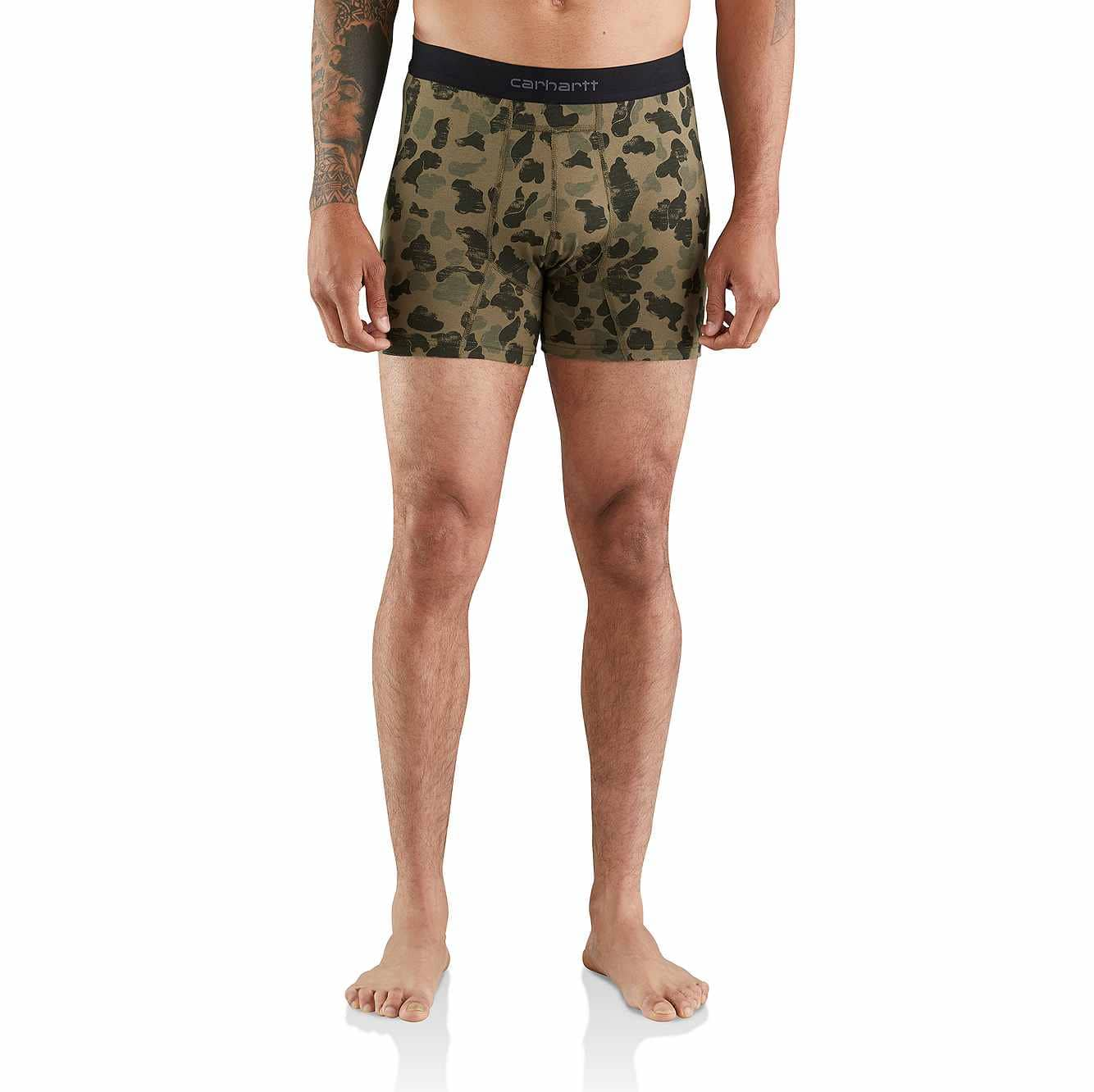 """Picture of 5"""" Basic Boxer Brief Printed 2-Pack in Duck Camo"""