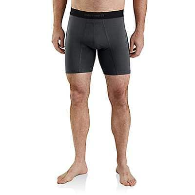"Carhartt Men's Shadow 8"" Basic Boxer Brief 2-Pack - front"