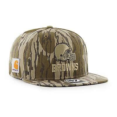 Carhartt Unisex Mossy Oak Break-Up Cleveland Browns Mossy Oak x Carhartt x '47 CAPTAIN - front