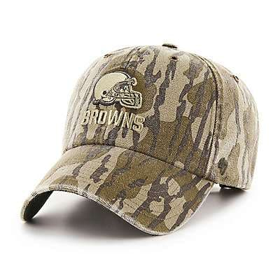 Carhartt Unisex Mossy Oak Break-Up Cleveland Browns Mossy Oak x Carhartt x '47 CLEAN UP - front