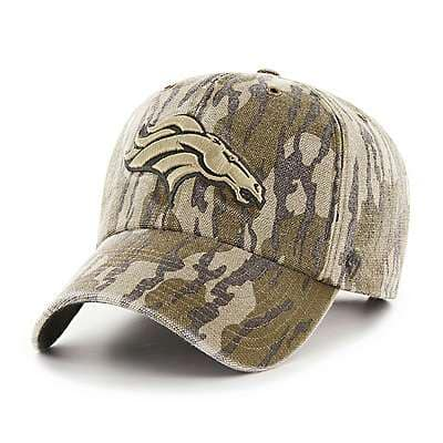 Carhartt Unisex Mossy Oak Break-Up Denver Broncos Mossy Oak x Carhartt x '47 CLEAN UP - front