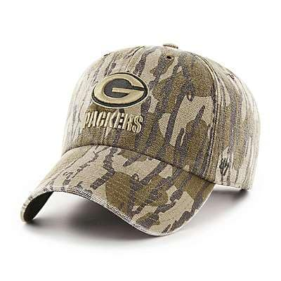 Carhartt Unisex Mossy Oak Break-Up Green Bay Packers Mossy Oak x Carhartt x '47 CLEAN UP - front