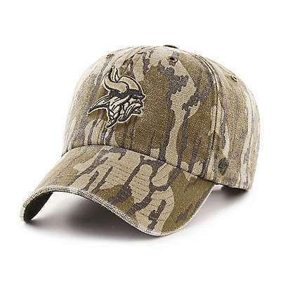 Carhartt Unisex Mossy Oak Break-Up Minnesota Vikings Mossy Oak x Carhartt x '47 CLEAN UP - front