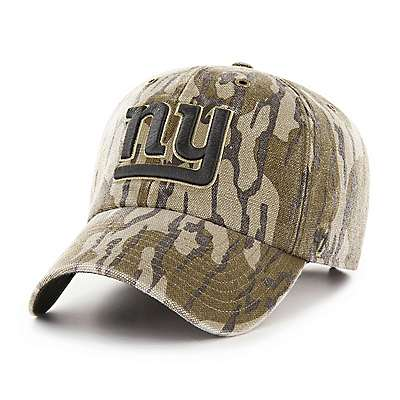 Carhartt Unisex Mossy Oak Break-Up New York Giants Mossy Oak x Carhartt x '47 CLEAN UP - front