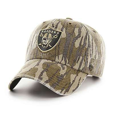 Carhartt Unisex Mossy Oak Break-Up Oakland Raiders Mossy Oak x Carhartt x '47 CLEAN UP - front