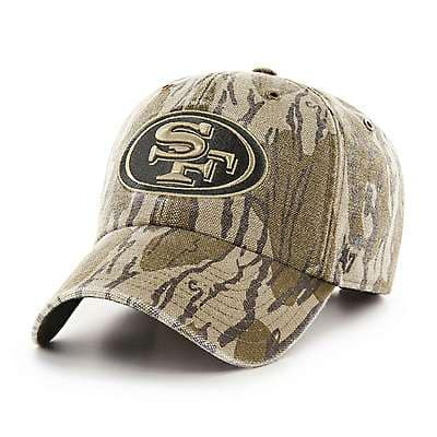 Carhartt Unisex Mossy Oak Break-Up San Francisco 49ers Mossy Oak x Carhartt x '47 CLEAN UP - front