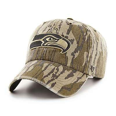 Carhartt Unisex Mossy Oak Break-Up Seattle Seahawks Mossy Oak x Carhartt x '47 CLEAN UP - front
