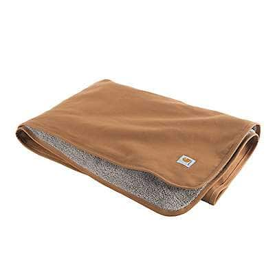 Carhartt  Carhartt Brown Carhartt Blanket - front