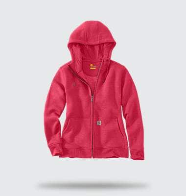 womens clarksburg full-zip hoodie. shop now