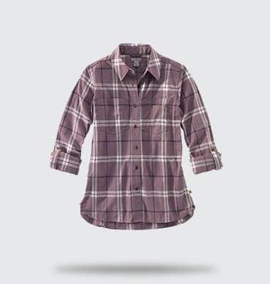 womens fairview plaid shirt. shop now