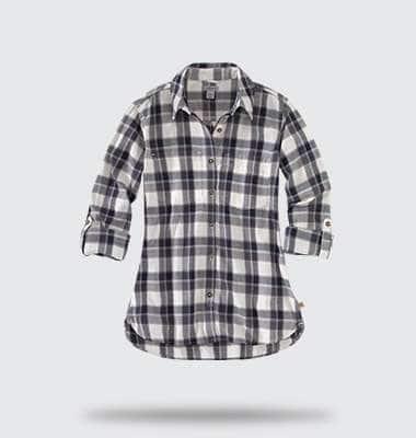 womens fairview plaid shirt, shop now