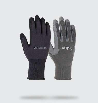 mens and womens all purpose nitrile grip gloves. shop now
