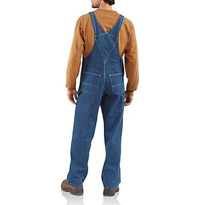 Carhartt  Darkstone Washed Denim Bib Overall/Unlined - back