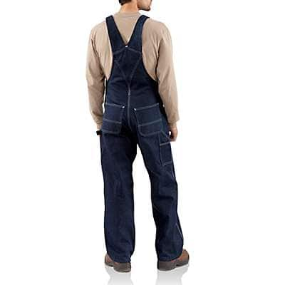 Carhartt Men's Denim Denim Bib Overall - Unlined - back