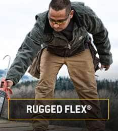 rugged flex. strong, flexible fabric everywhere it's needed most
