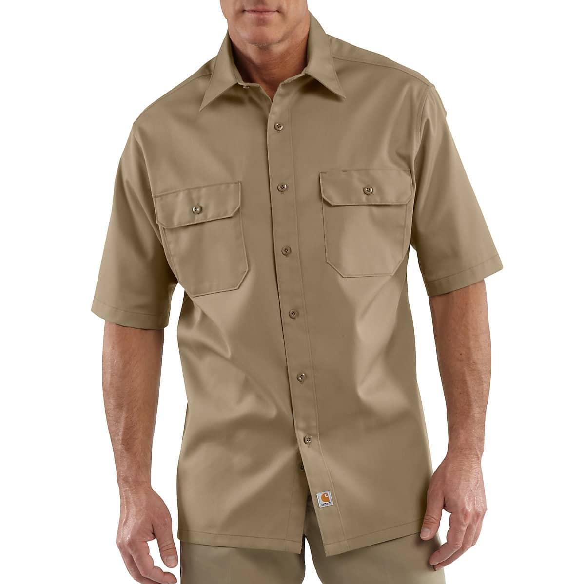 50466d3e281f7 Men s Short-Sleeve Twill Work Shirt S223
