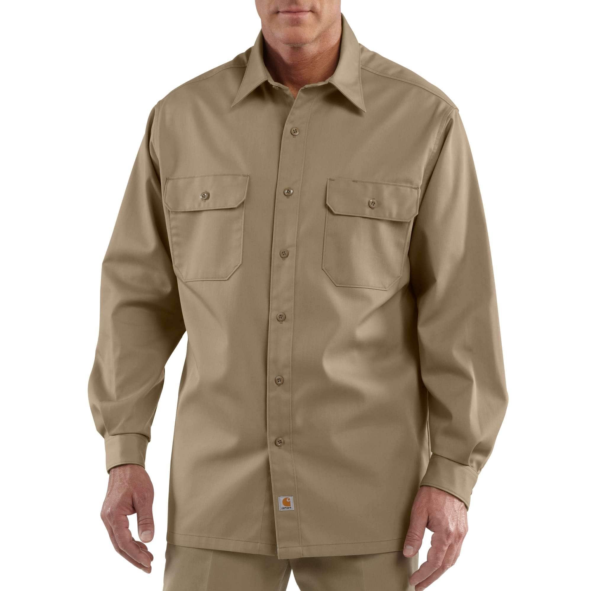 e98db59c07f Men s Long-Sleeve Twill Work Shirt S224