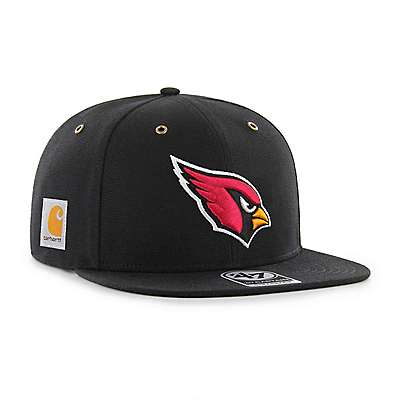 Carhartt Men's Carhartt Brown Arizona Cardinals Carhartt X '47 Captain - front