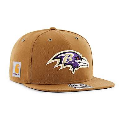 Carhartt Men's Carhartt Brown Baltimore Ravens Carhartt X '47 Captain - front