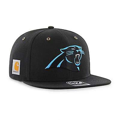 Carhartt Men's Black Carolina Panthers Carhartt X '47 Captain - front