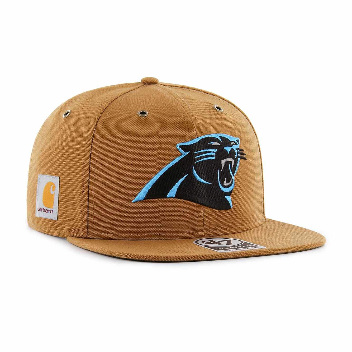 Picture of Carolina Panthers Carhartt X '47 Captain in Carhartt Brown