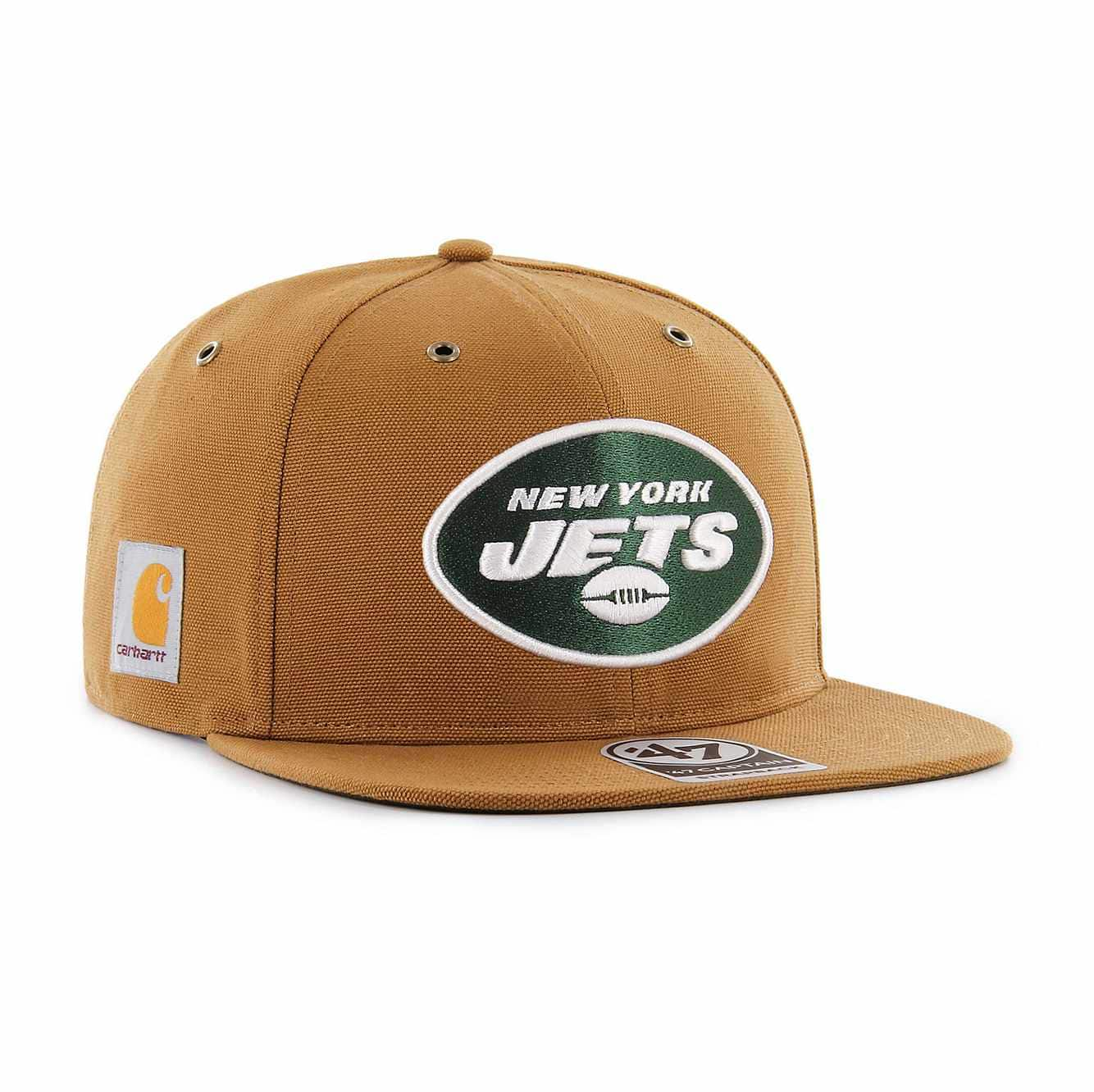 Picture of New York Jets Carhartt X '47 Captain in Carhartt Brown