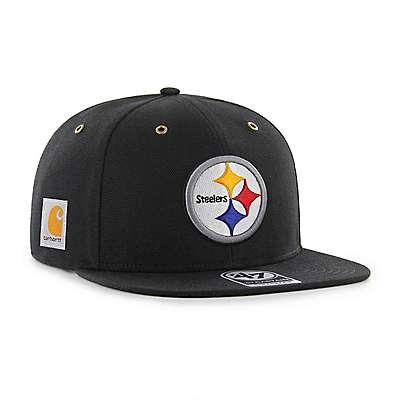 Carhartt Men's Carhartt Brown Pittsburgh Steelers Carhartt X '47 Captain - front