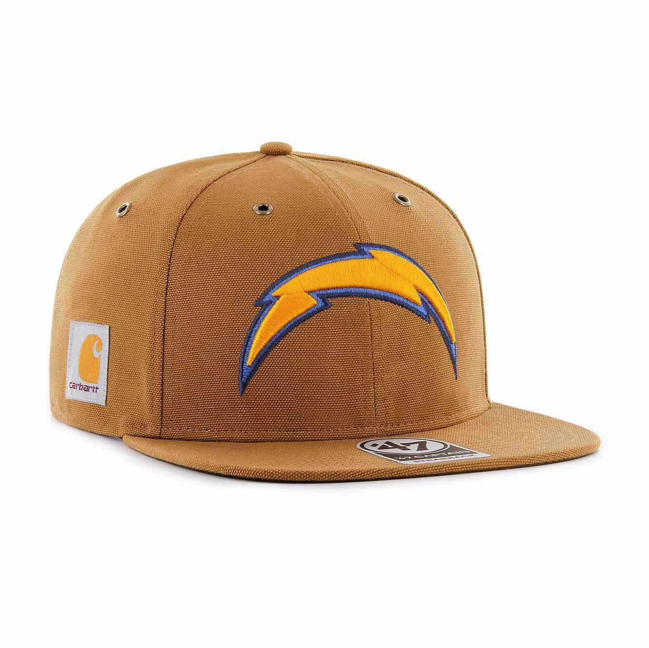 Picture of Los Angeles Chargers Carhartt X '47 Captain in Carhartt Brown