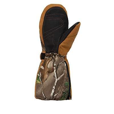 Carhartt Unisex Realtree Xtra Camo Insulated Mitt - back