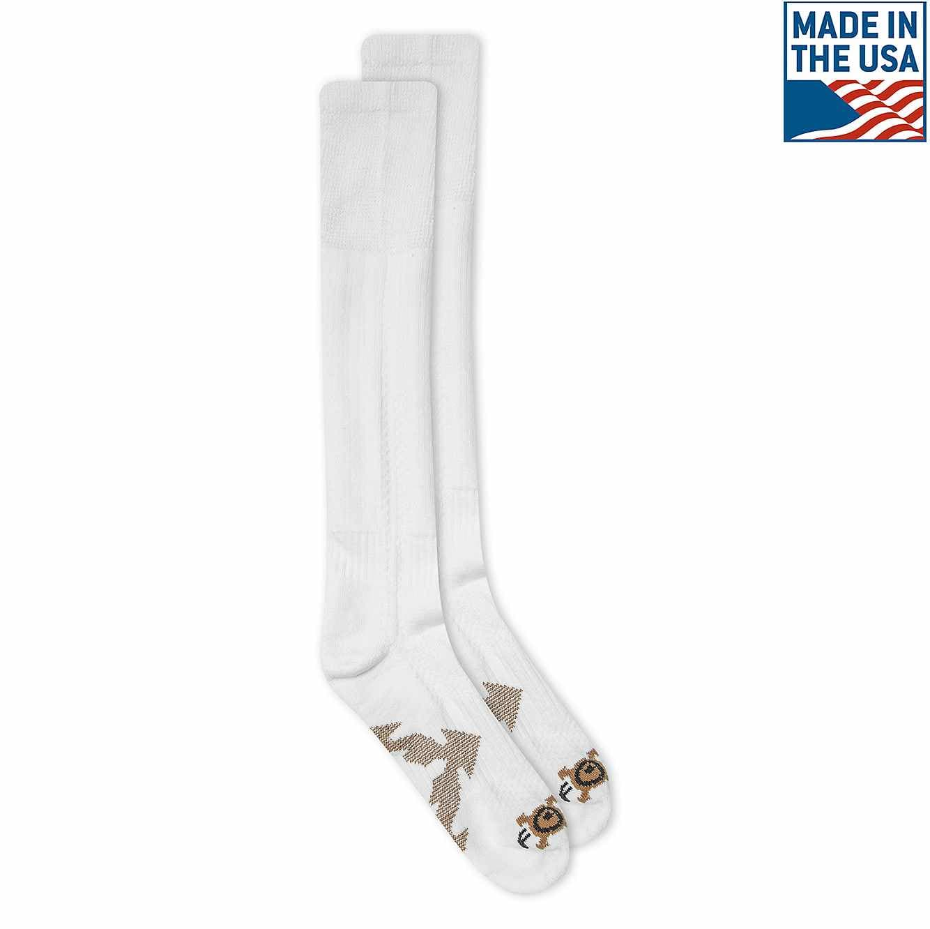 Picture of Force® Over-the-Calf Sock in White