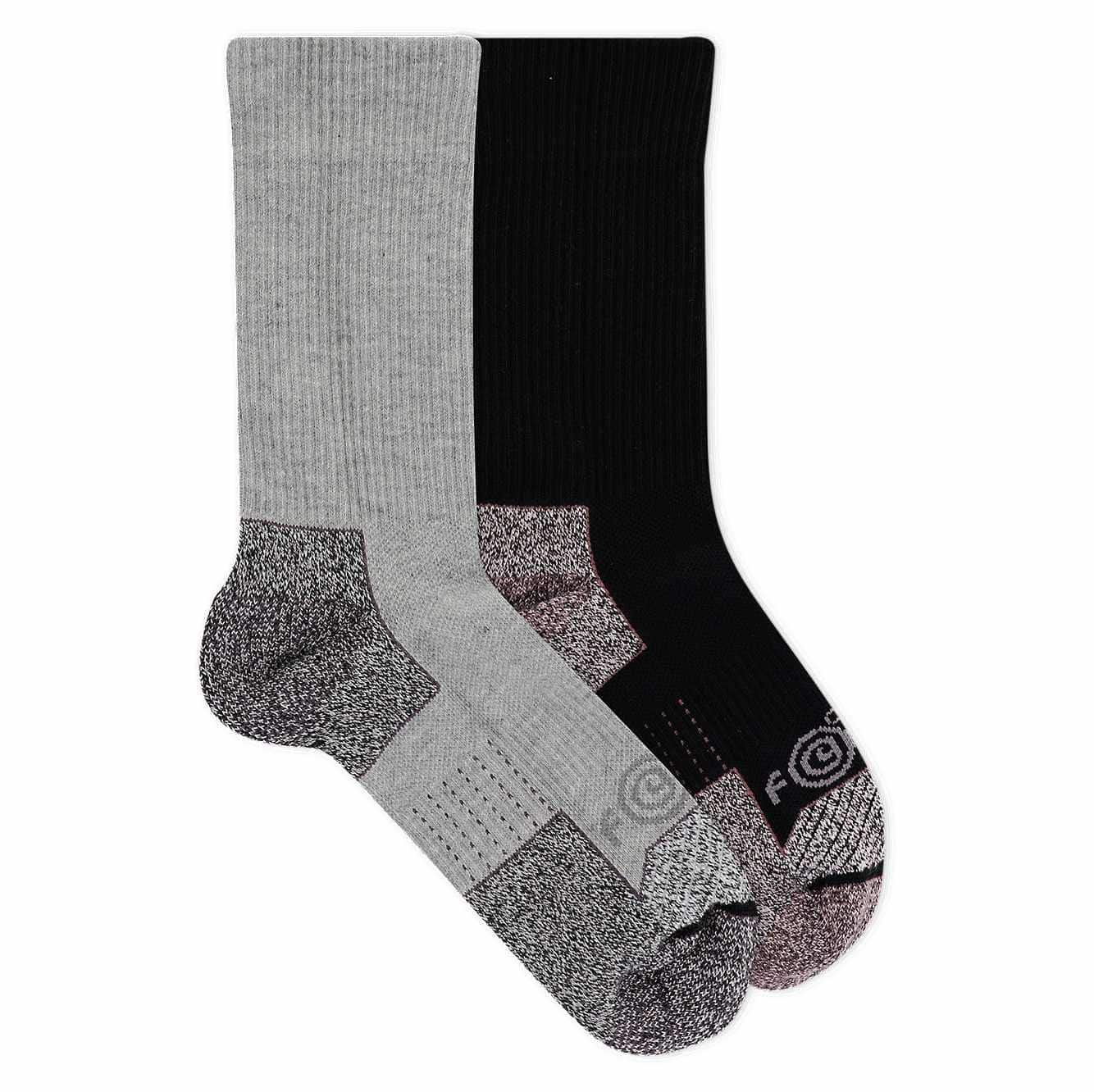 Picture of Force® Performance Steel Toe Crew Sock 2 Pack in Assorted