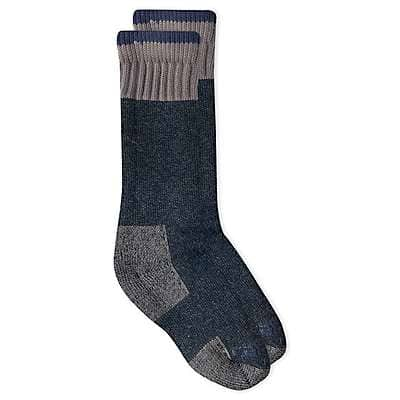 Carhartt Women's Charcoal Heather Cold Weather Boot Sock - front