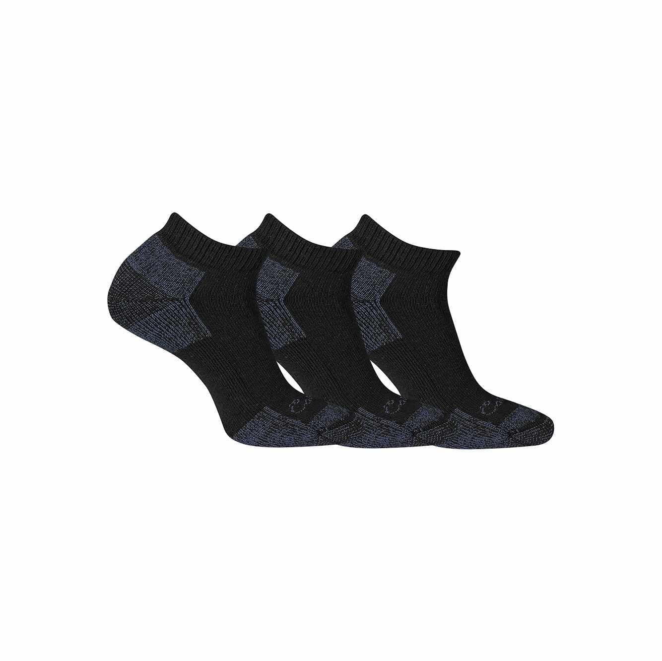 Picture of Cotton Low Cut Sock, 3 Pack in Black