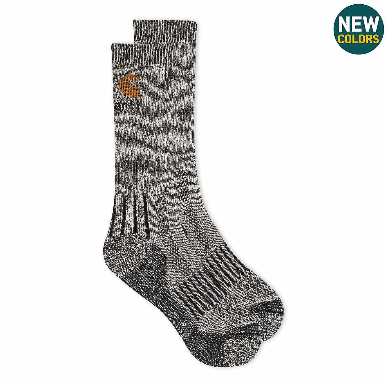 Picture of All-Terrain Crew Sock 2 Pack in Black
