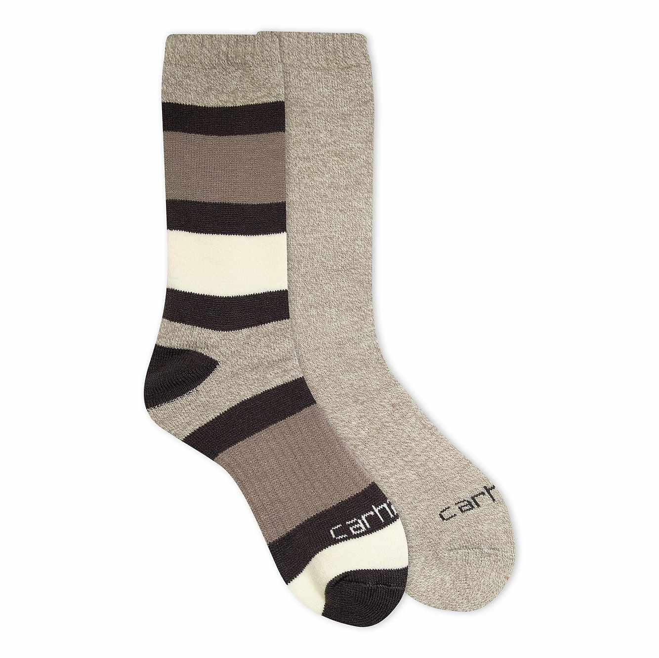 Picture of Arctic Thermal Crew Sock 2 Pack in Charcoal