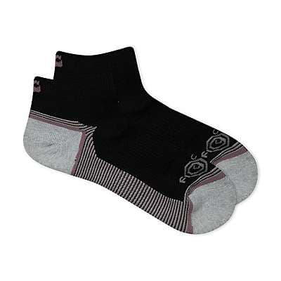 Carhartt Women's Black Carhartt Force® Performance Low Cut Sock, 3 Pack - front