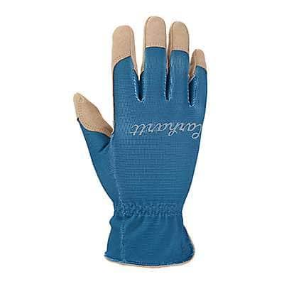 Carhartt Women's Island Blue Perennial Work Glove - front