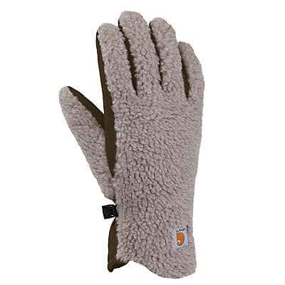 Carhartt Women's Desert Sand Sherpa Insulated Glove - front
