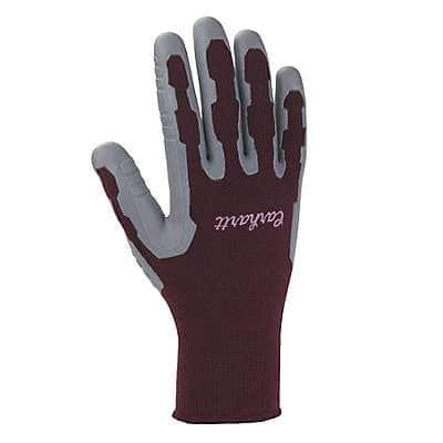 Carhartt Women's Gray Women's C-Grip Pro Palm Glove - front
