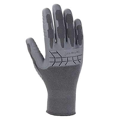 Carhartt Women's Gray Knuckler C-Grip® Glove - front