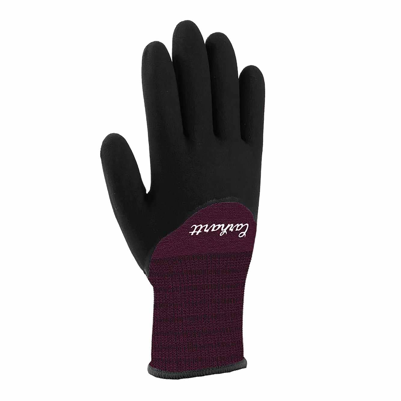 Picture of Thermal Full-Coverage Nitrile Grip Glove in Deep Wine
