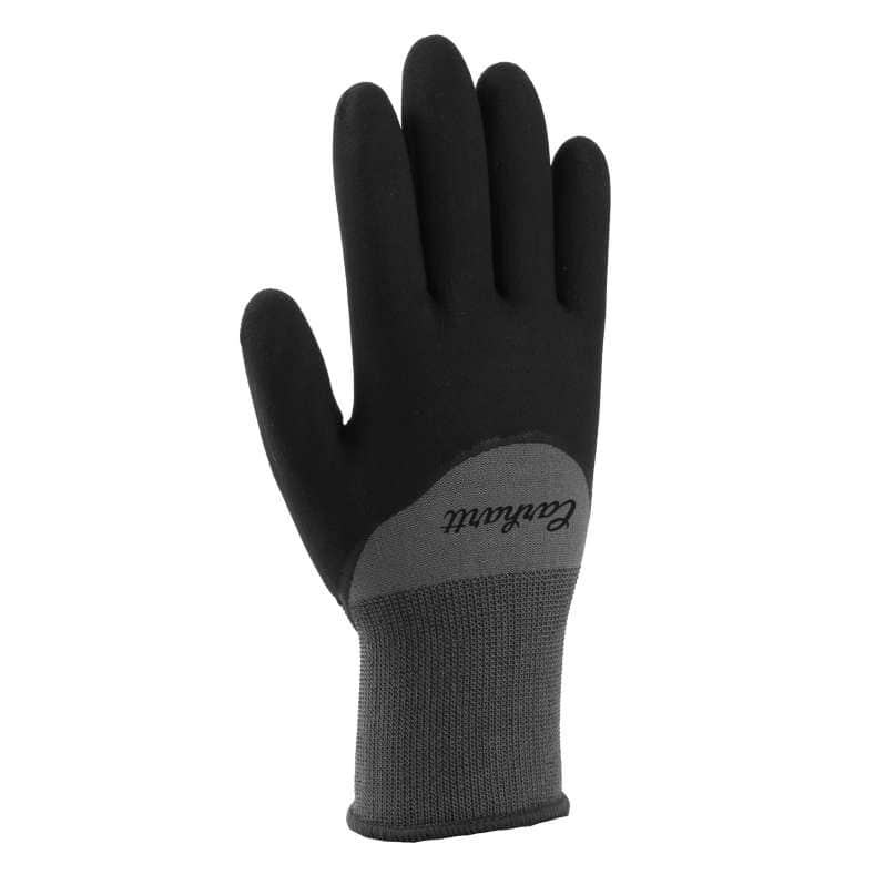 Carhartt  Gray Thermal Full-Coverage Nitrile Grip Glove