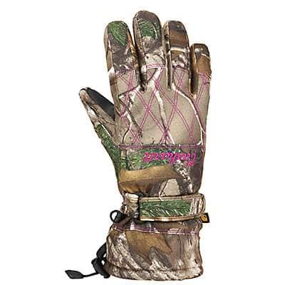 Carhartt Women's Realtree Xtra Camo Gauntlet Insulated Glove - front