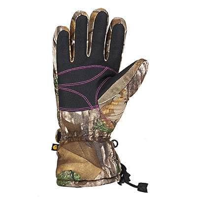 Carhartt Women's Realtree Xtra Camo Gauntlet Insulated Glove - back
