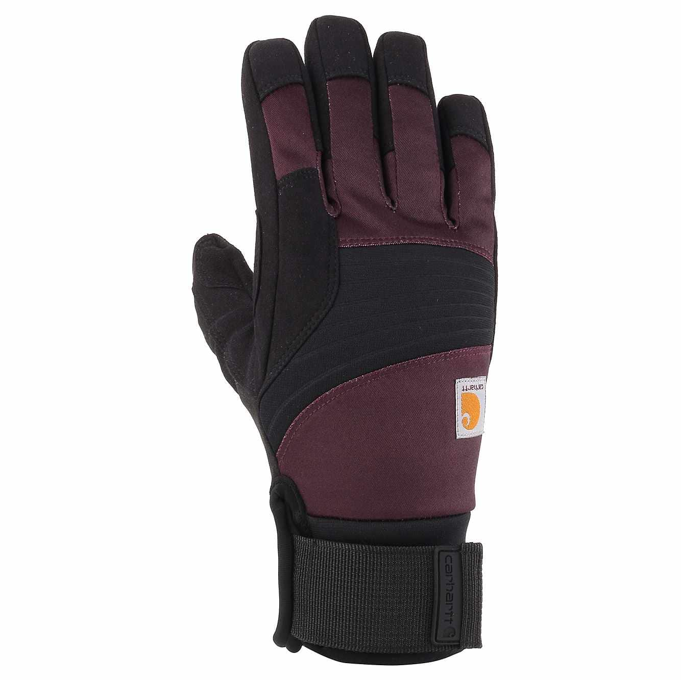Picture of Stoker Insulated Glove in Deep Wine