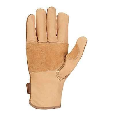 Carhartt Women's Brown Chore Master Work Glove - back