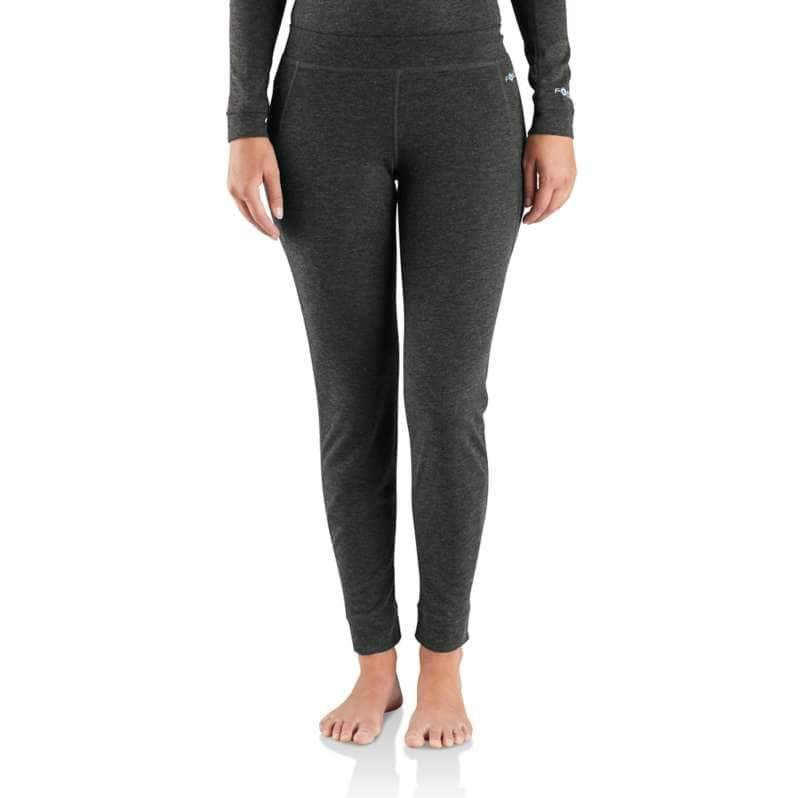 Carhartt  BLACK HEATHER Base Force® Heavyweight Poly-Wool Bottom