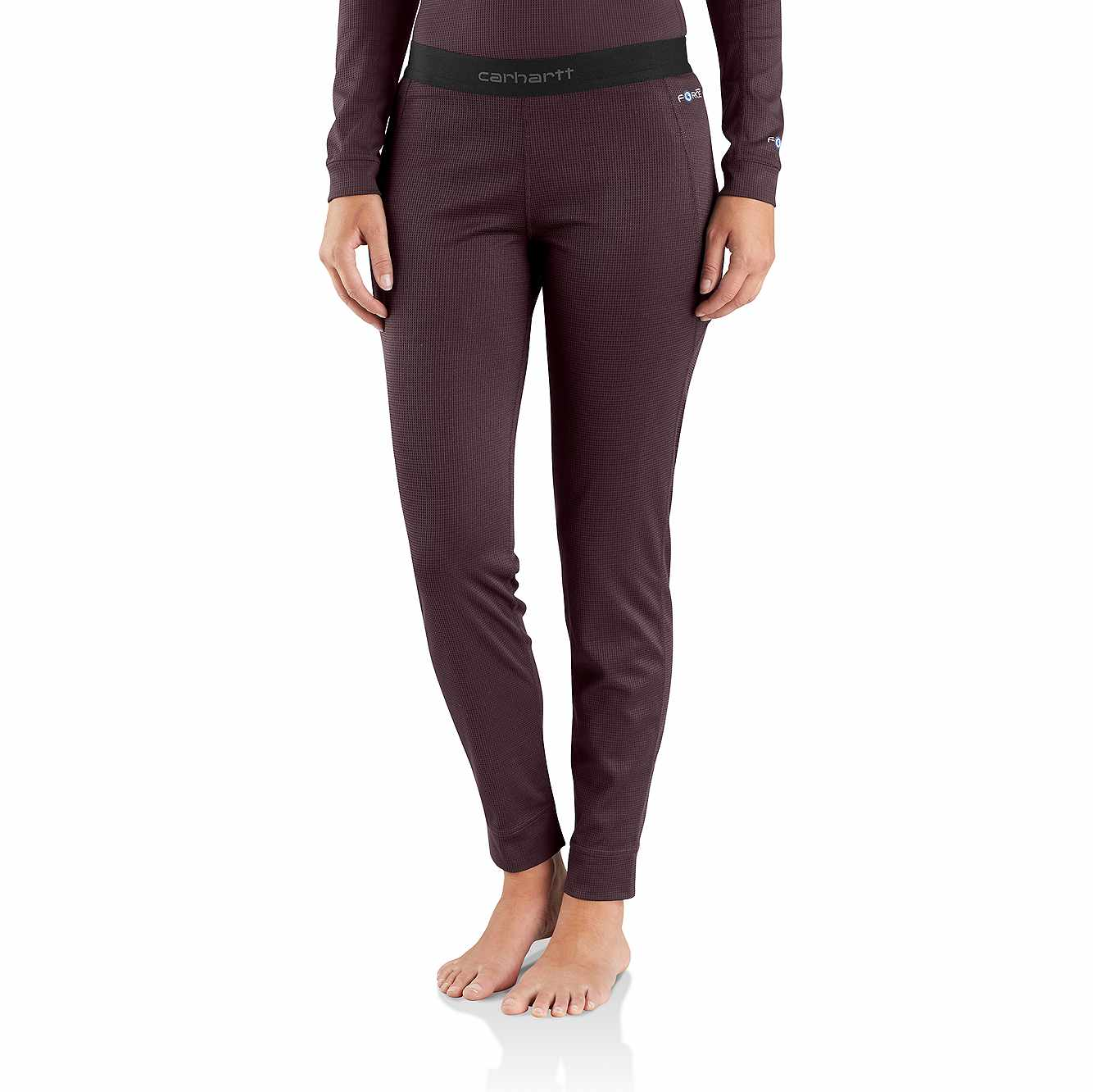 Picture of Base Force® Midweight Tech Bottom in Deep Wine