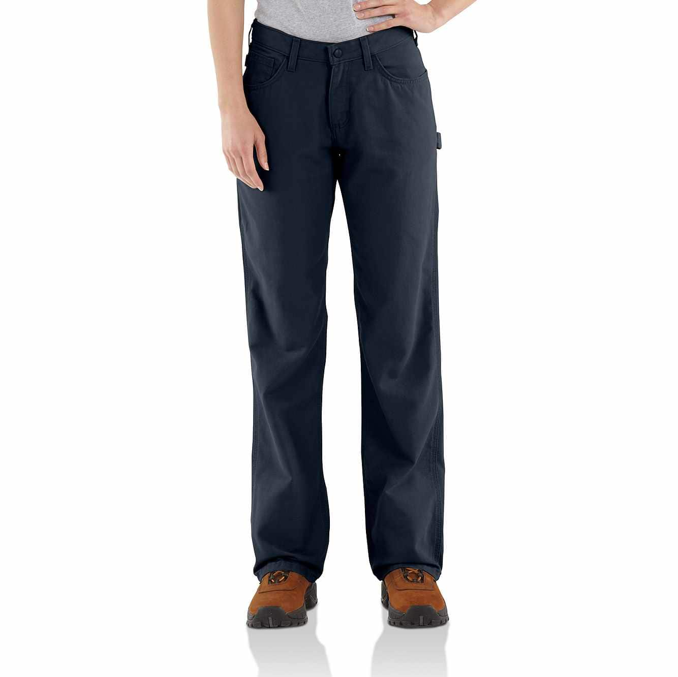 Picture of Flame-Resistant Loose Fit Midweight Canvas Jean in Dark Navy